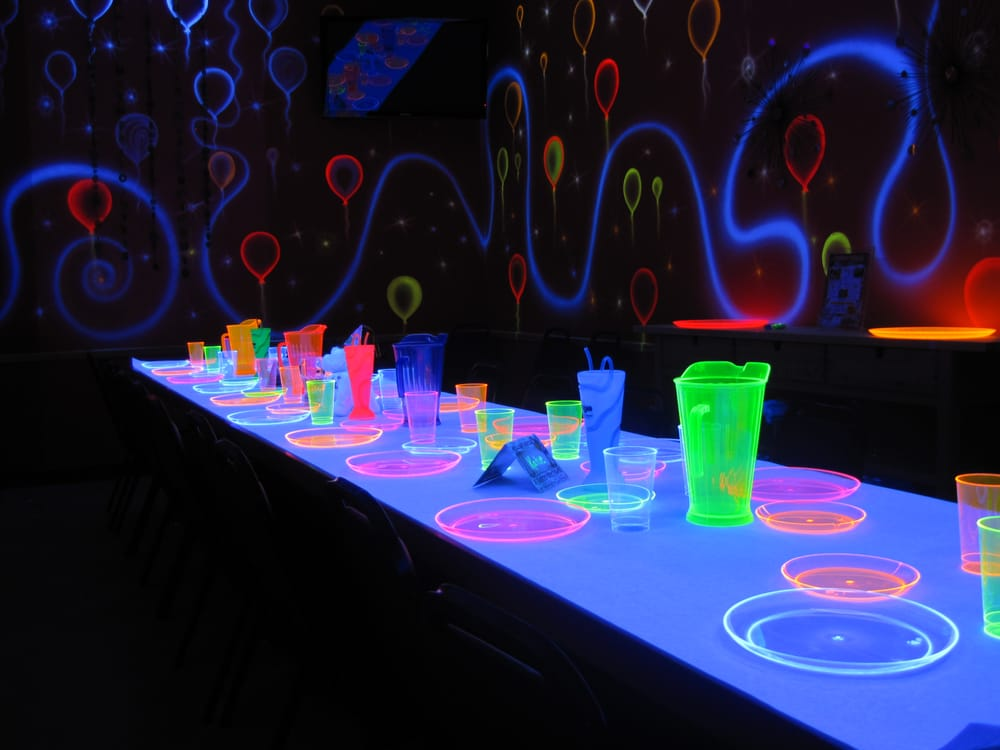 Our Glow Room For Glow In The Dark Parties Yelp