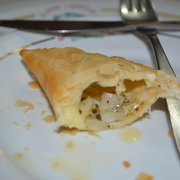 Pastel de queijo- traditional pastry with cheese