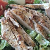 Grilled Chicken Caesar salad.