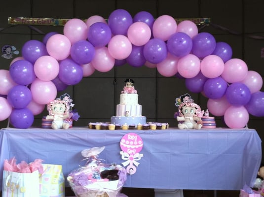balloon decoration for baby shower | Yelp