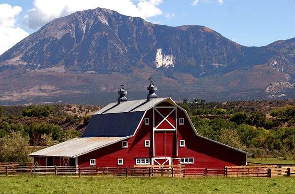 """""""Midway Ranch Barn"""" - Western Colorado"""