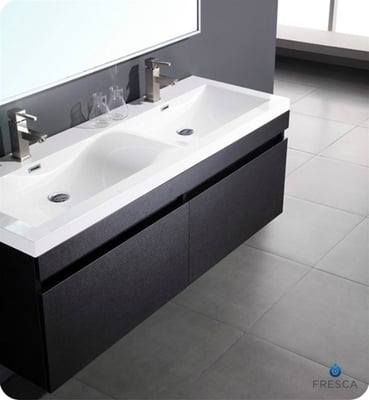 Double sink modern bathroom vanity toronto yelp for Bathroom cabinets yelp