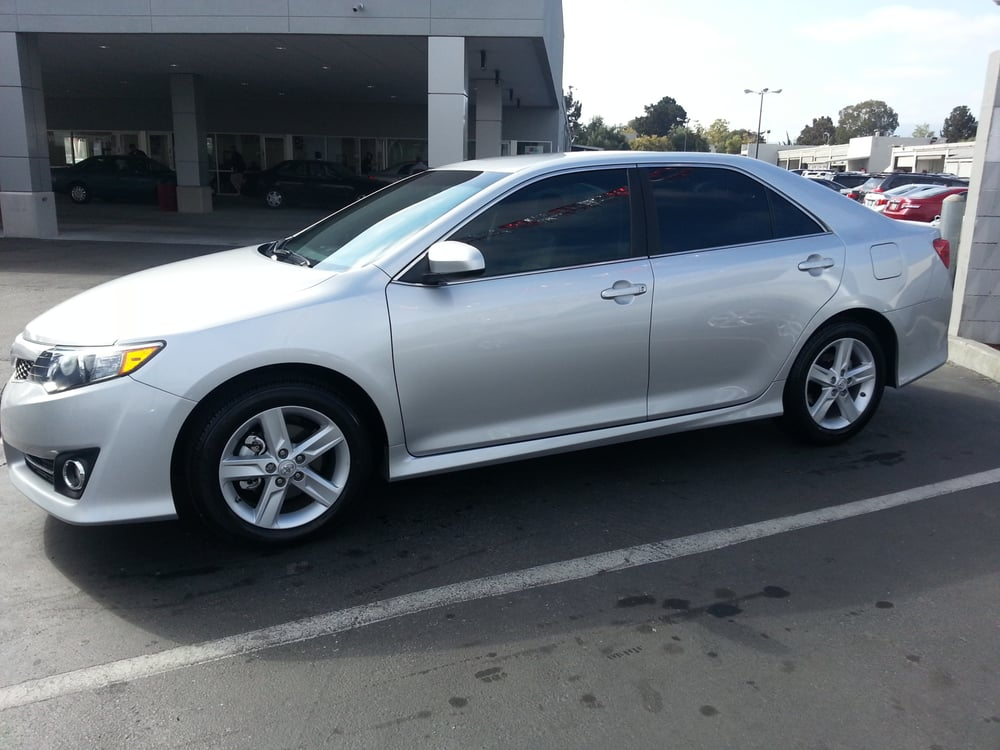 Windshield Replacement Near Me >> 2013 Camry. 35% front. 20% back.   Yelp