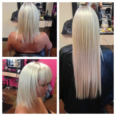 Thin Hair After Tape Extensions 117