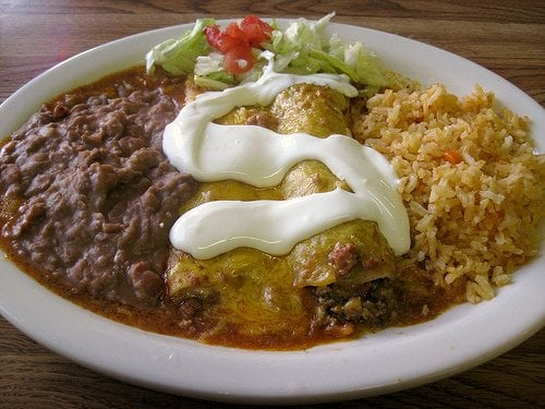 Tex-Mex enchiladas. | Yelp