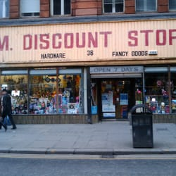 ATM Discount Stores, Glasgow, UK