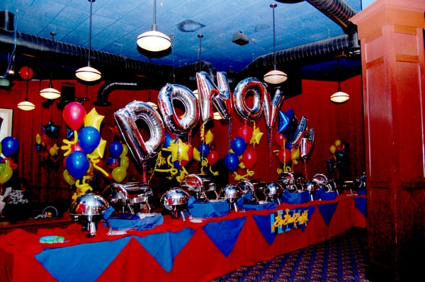 Sesame Street Theme 1st Birthday Party Name Balloon Arch | Yelp