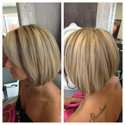 low-lights on blonde hair