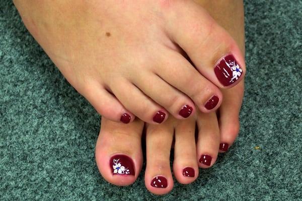 Toe nail designs | Yelp
