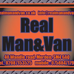 Real Man and Van, London, UK