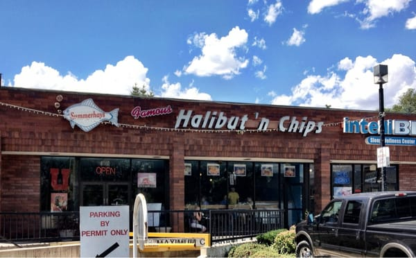 Summerhays s halibut n chips american traditional for Fish and chips salt lake city