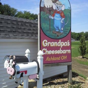 grandpas cheese barn
