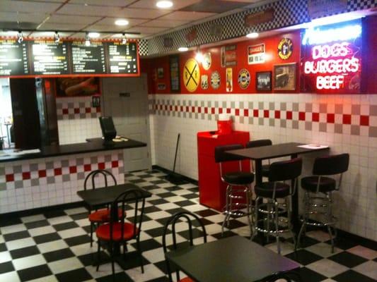 Hot Dog Station On Kimball