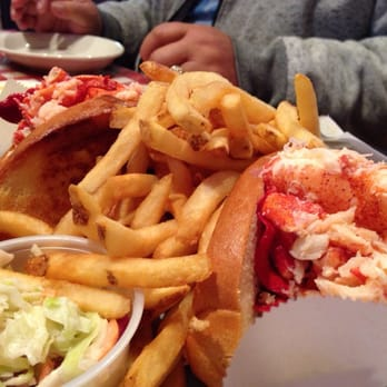 Double play lobstah plate.