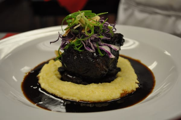 Braised beef Short Ribs with Creamy Polenta | Yelp