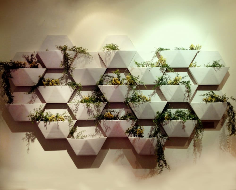 CompoClay Hex Living Wall Planter  Yelp