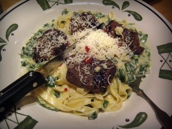 Steak Gorgonzola Alfredo Yelp