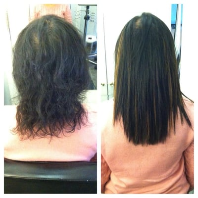 12 Inch Hair Extensions Before And After 6
