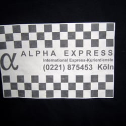 Alpha Express Kurier, Cologne, Nordrhein-Westfalen, Germany