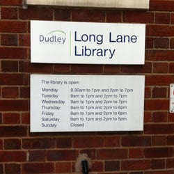 Long Lane Library, Halesowen, West Midlands