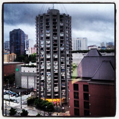tower at 801 was the first high rise apartment community