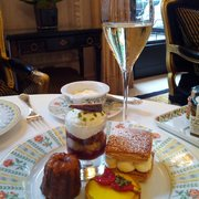 Afternoon tea.  Great atmosphere.  Pastries are just ok.