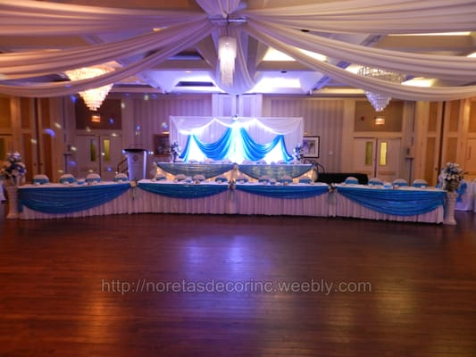 Reception Decoration Backdrop Ideas Ceiling Drapes