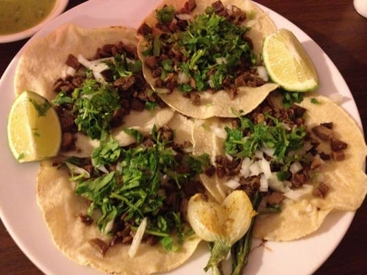 Tacos de lengua (beef tongue tacos) - excellent! | Yelp