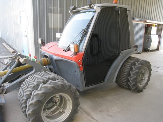 How to tint tractor paint