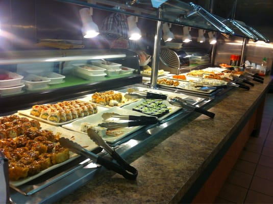 Mongolian buffet chinese warren mi united states yelp for Fish buffet near me