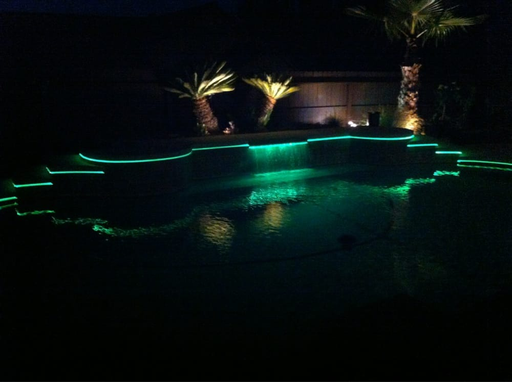 fiber optic pool lighting upgrade yelp. Black Bedroom Furniture Sets. Home Design Ideas