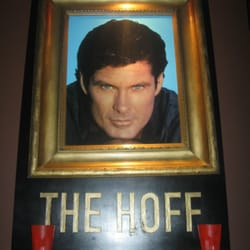 Shrine to David Hasselhoff