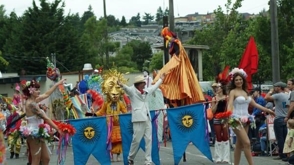 Fremont Solstice Parade: Photos