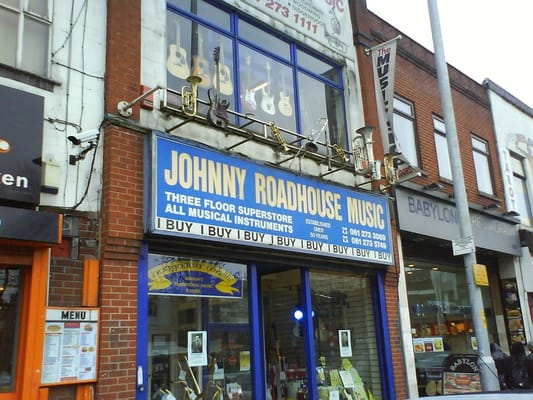 Johnny Roadhouse Manchester - Musical Instrument Superstore