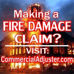 fire damage claim public adjuster