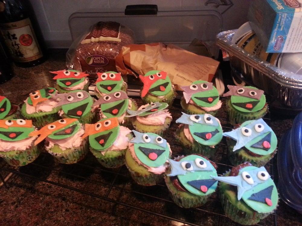 Ninja Turtles Cupcakes Walmart Ninja Turtle Cupcakes