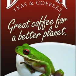 Drury Tea and Coffee - Our Rainforest Alliance Mascot