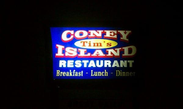 Tims Coney Island