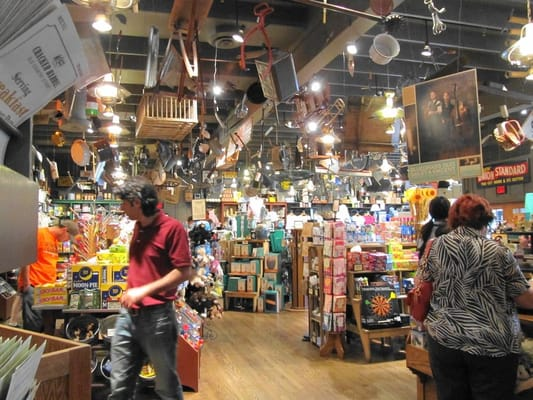 Inside of cracker barrel country store yelp for How did cracker barrel get its name