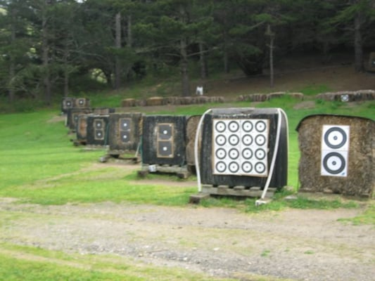 Backyard Archery Range Design : practice on the outdoor archery range it was one of the first
