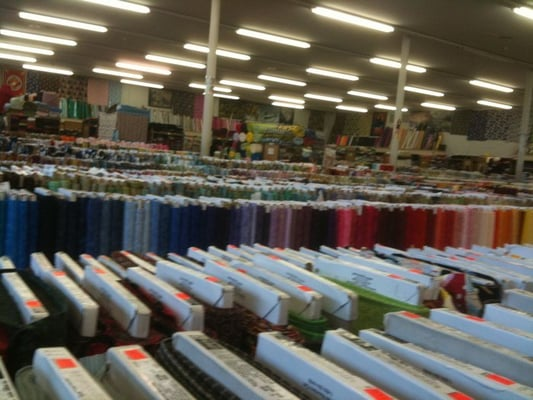 M l fabrics discount store anaheim ca yelp for Fabric outlet near me
