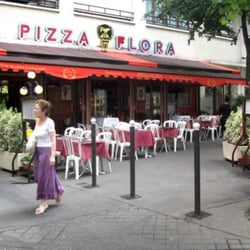 Pizza Flora, Paris, France