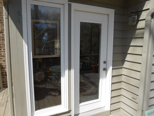 Glass replacement replacement patio door glass for Replacement french doors