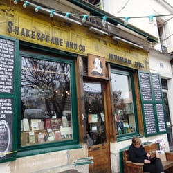 Shakespeare & Company Bookstore