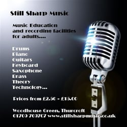 Still Sharp Music, Rotherham, South Yorkshire