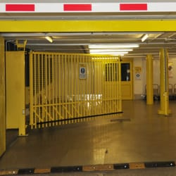 Secure PIN code gate and internal loading bay