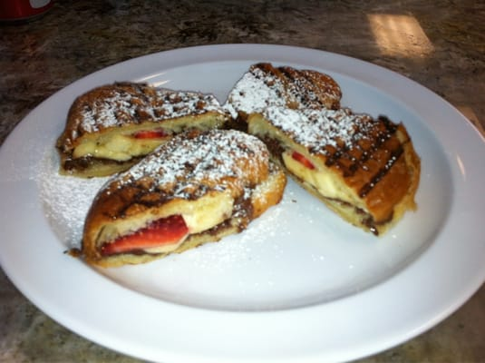 Nutella Croissant Strawberry and Banana | Yelp