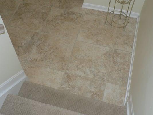 Tile Flooring In Basement Yelp