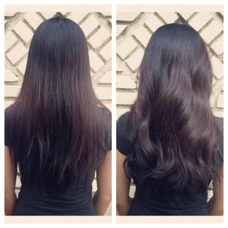 Before And After Sew In Hair Extensions For Volume By