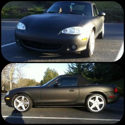 3m Matte Black Mazda Miata Yelp